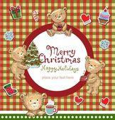 God julhälsningar. — Stockvektor