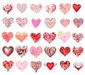 Vector harten — Stockvector