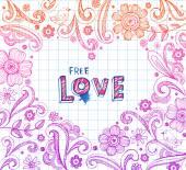 Cadre forme coeur — Vecteur