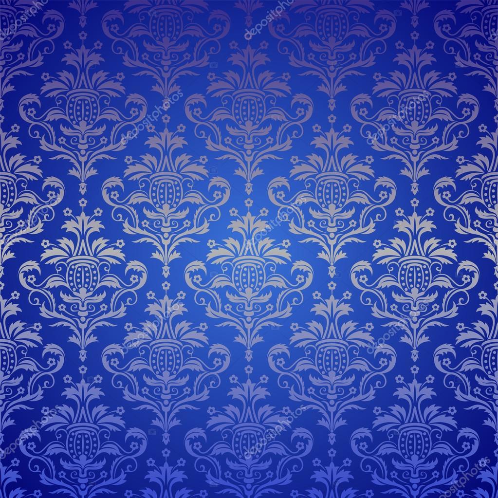 Amazoncom Wieco Art Blue Flickering Flower Modern
