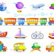 Types of transport — Stock Vector #65460987