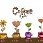 Coffee theme Background. — Stock Vector #68260679
