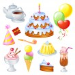 Birthday Set — Stock Vector #69231057