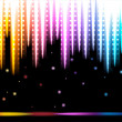 Disco colorful background. — Stock Vector #70135803