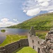 Loch Awe From Kilchurn Castle — Stock Photo
