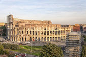 Rome Colosseum elevated view — Stock Photo