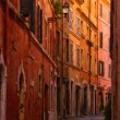 Rome Narrow Street Painting — Stock Photo #58432803