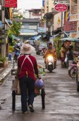 Hua Hin Street Scene — Stock Photo