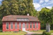 Hovdala Slott Orangery Building — Stock Photo