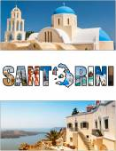 Santorini letterbox ratio 08 — Stock Photo