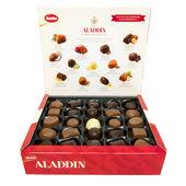 Aladdin Chocolate Selection open box — Stock Photo