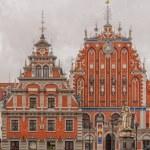 Riga The House of Blackheads frontage — Stock Photo #66019937