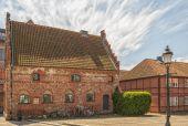 Casa geminada de Ystad — Fotografia Stock