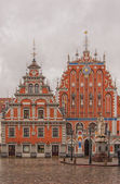 Riga The House of Blackheads frontage — Stock Photo