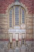 Sankt Johannes Kyrka Windows — Stock Photo