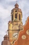 Sankt Johannes Kyrkas Belltower — Stock Photo