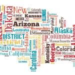 Wordcloud of America — Stock Photo #69541979