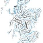 Wordcloud of Scotland — Stock Photo #69541981