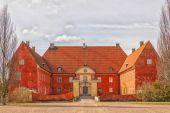 Krapperup Castle Front Facade — Stock Photo
