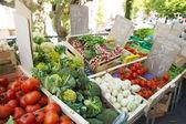 Vegetable market in France — Foto Stock