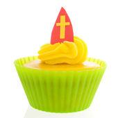 Sinterklaas cupcake — Stock Photo