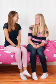 Girlfriends together — Stock Photo
