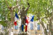 French war monument — Stock Photo