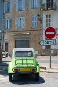Old French car — Stock Photo