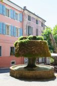 Old Roman fountain — Stock Photo