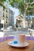 Coffee outdoor — Stock Photo
