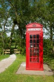 English call box — Stock Photo