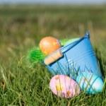 Chocolate easter eggs — Stock Photo #67762179