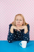 Depressive woman — Stock Photo