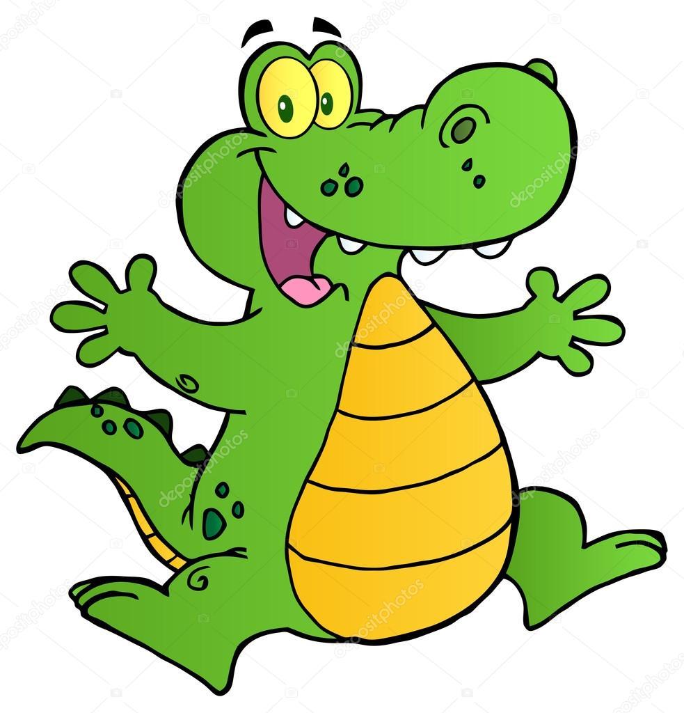 Personnage de dessin anim crocodile image vectorielle hittoon 61073607 - Dessin anime crocodile ...