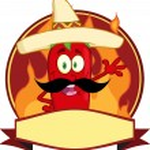 Mexican Chili Pepper Logo — Stock Vector #61080919
