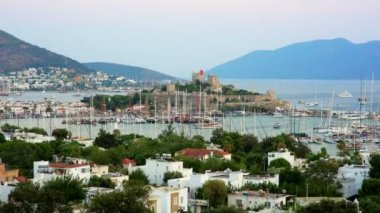Bodrum, famous holiday destination, timelapse — Stock Video