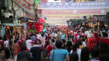 Celebración del año nuevo chino — Vídeo de stock