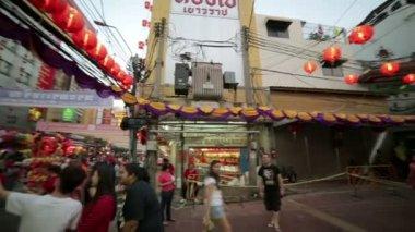 Chinese new year celebration — Stock Video