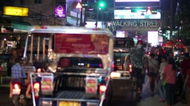 Nightlife with prostitution — Stock Video