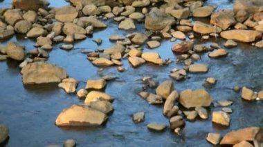 Tad Lo Village Waterfall — Stock Video