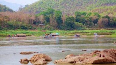 Mekong River — Stock Video