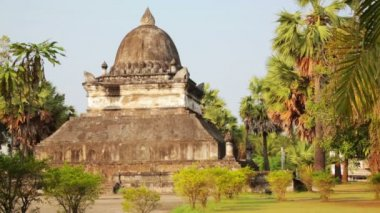 Temple in Luang Prabang — Stock Video
