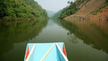 Boat Trip at Mekong River — Stock Video