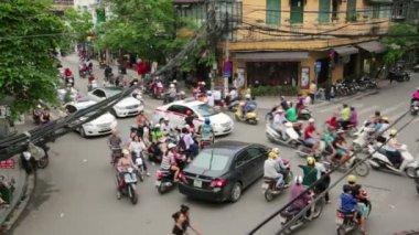 Crazy motocykle ruchu — Wideo stockowe