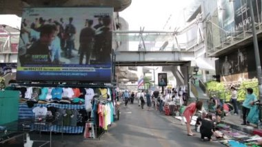 Bangkok shutdown protests — Stock Video