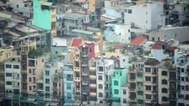 Ho Chi Minh City Slums — Stock Video