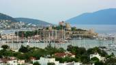Bodrum, famous holiday destination — Stock Photo