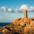 Atlantic ocean coast in Brittany — Stock Photo #55723961