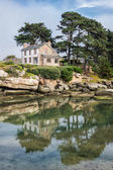Building in Brittany — Zdjęcie stockowe