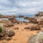 Atlantic ocean coast in Brittany — Stock Photo #55994439